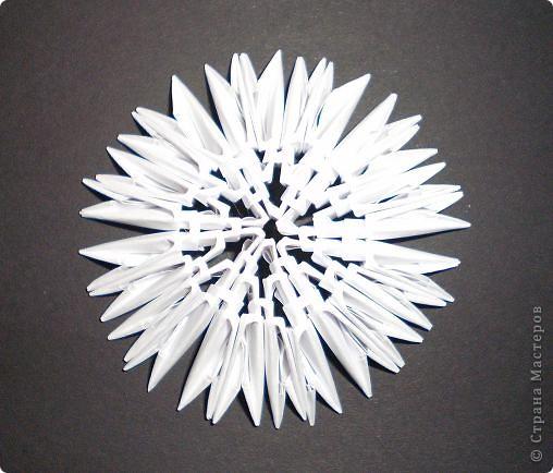 Мастер-класс Поделка изделие Оригами китайское модульное Северный Олень Бумага фото 6