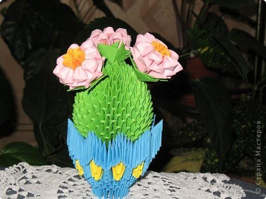 Поделки в технике модульного оригами. фото 3