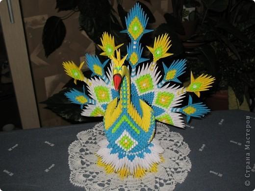 Поделки в технике модульного оригами. фото 2