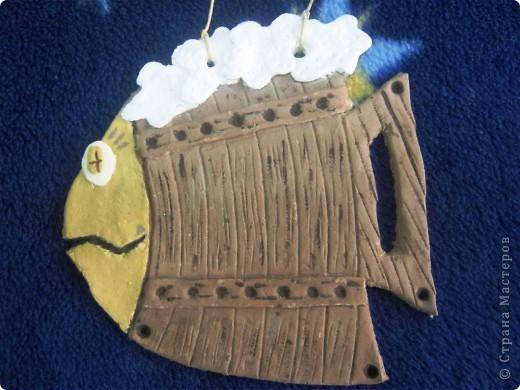 Моя гордость пивная рыбка. Тоже подарок. Надеюсь, понравиться)))