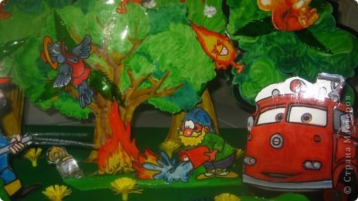 """Пожар на лесной опушке"". фото 2"