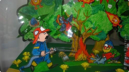 """Пожар на лесной опушке"". фото 4"