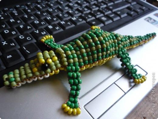 Бисероплетение - Крокодил-1 из