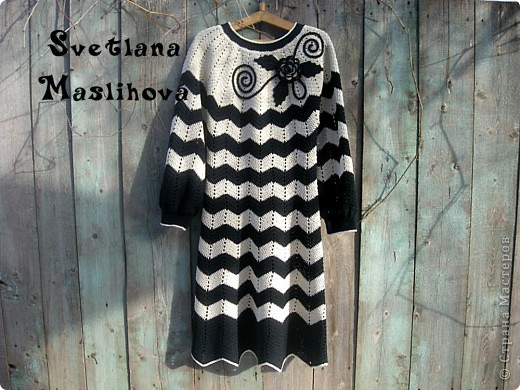 Платье в стиле Миссони для себя. фото 3