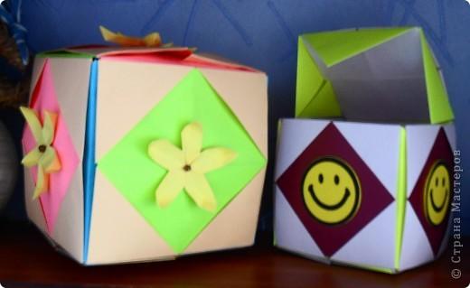 кубики-коробочки