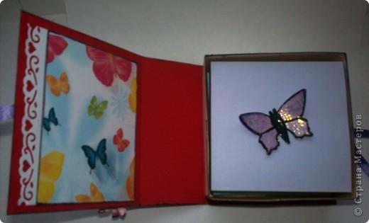 Наконец решилась и сделала коробочку с блоком для записей. Спасибо Тане Имполитовой и ее коробочке-книжке https://stranamasterov.ru/node/323176?c=favusers.  фото 5