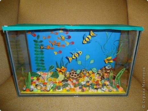 Как сделать аквариум своими руками фото