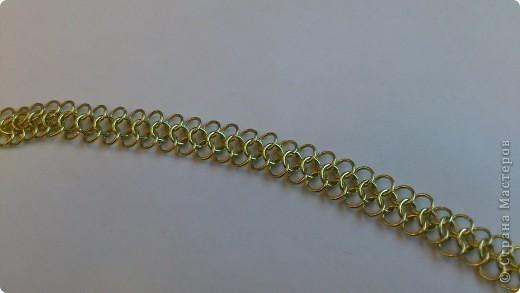 Дамы и господа! Представляю вашему вниманию браслет, сплетенный в смешанной европейско-персидской технике. фото 3