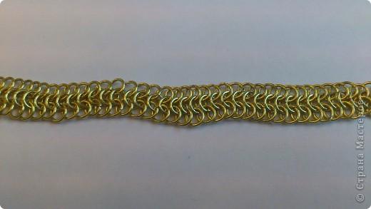 Дамы и господа! Представляю вашему вниманию браслет, сплетенный в смешанной европейско-персидской технике. фото 4