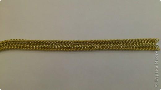 Дамы и господа! Представляю вашему вниманию браслет, сплетенный в смешанной европейско-персидской технике. фото 9