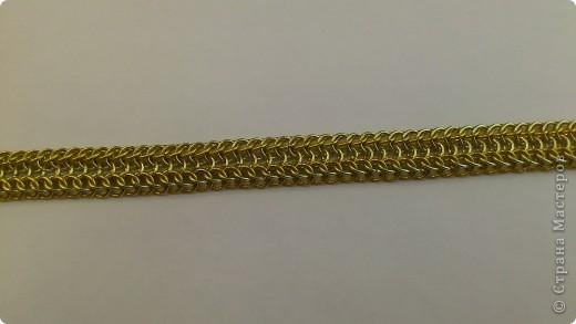 Дамы и господа! Представляю вашему вниманию браслет, сплетенный в смешанной европейско-персидской технике. фото 10