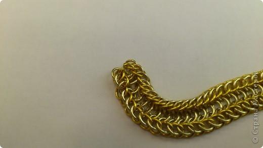Дамы и господа! Представляю вашему вниманию браслет, сплетенный в смешанной европейско-персидской технике. фото 12