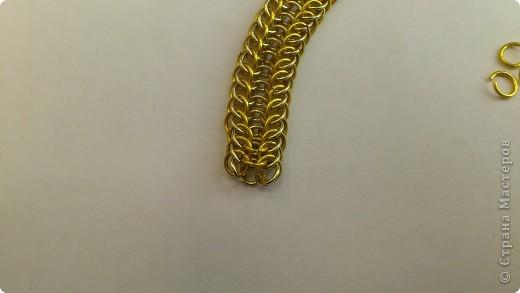 Дамы и господа! Представляю вашему вниманию браслет, сплетенный в смешанной европейско-персидской технике. фото 13