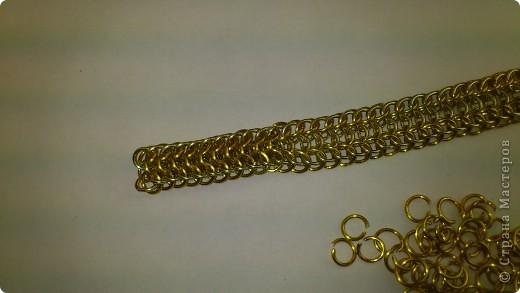 Дамы и господа! Представляю вашему вниманию браслет, сплетенный в смешанной европейско-персидской технике. фото 14