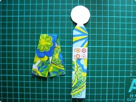 Куклы Мастер-класс Моделирование конструирование Как сделать бумажную японскую куколку Бумага фото 13