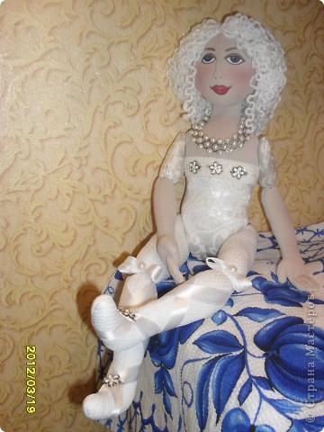 авторская текстильная кукла фото 1
