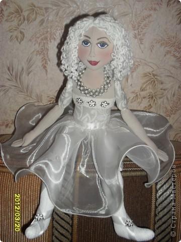 авторская текстильная кукла фото 2