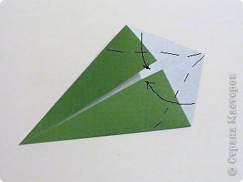 Мастер-класс 8 марта День матери День рождения День учителя Оригами Простая роза оригами Бумага фото 11