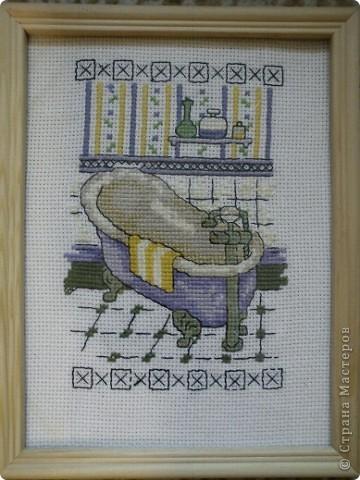 Вышивка крестом Для ванной