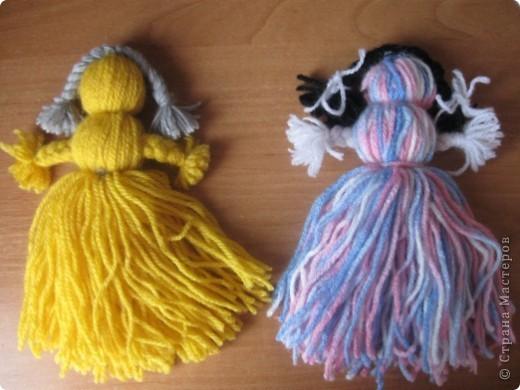 Куклы мотанки своими руками из ниток