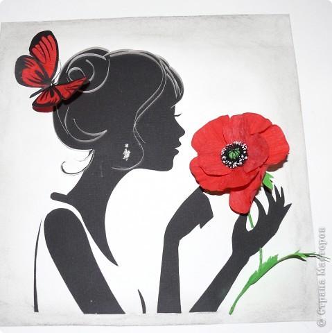 Всем здравствуйте! Выставляю свою очередную девушку :) Уж очень мне нравятся девушки и цветы. фото 1