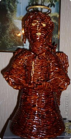 Вот такого Ангела приготовили к празднику Пасхи. Лицо пока не нравится. Подумаю, что изменить. фото 4