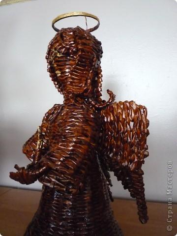 Вот такого Ангела приготовили к празднику Пасхи. Лицо пока не нравится. Подумаю, что изменить. фото 3