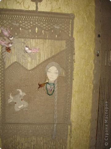Плетение Макраме панно