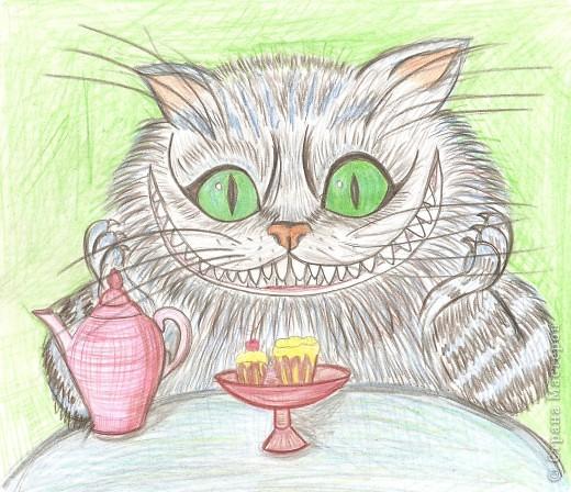 Портрет Чеширского кота :-) фото 1