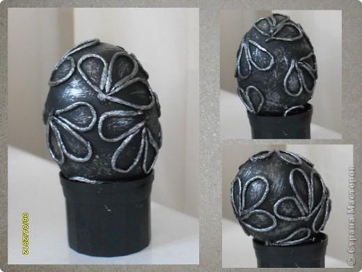 Здравствуйте, Мастерицы! Я снова с работами в технике пейп-арт. И снова это Пасхальные сувениры - яйца. фото 3