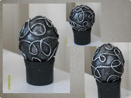 Здравствуйте, Мастерицы! Я снова с работами в технике пейп-арт. И снова это Пасхальные сувениры - яйца. фото 5