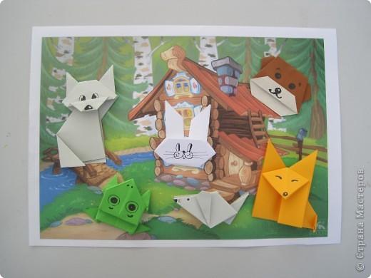 Поделки из оригами из сказок