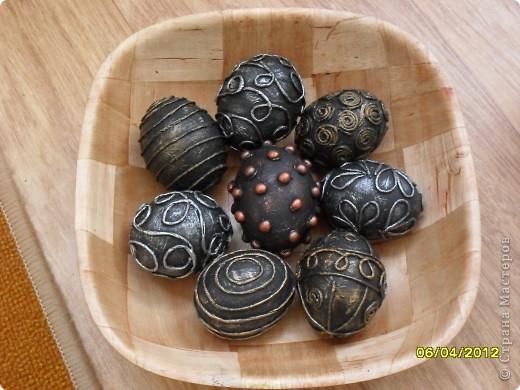 Здравствуйте, Мастерицы! Я снова с работами в технике пейп-арт. И снова это Пасхальные сувениры - яйца.