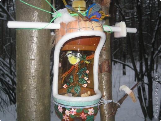 Кормушка для птиц.   фото 2