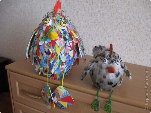 Вот такая птаха у меня вылупилась на днях, даже сама не пойму не-то курица, не-то просто птица!  фото 5