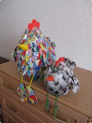 Вот такая птаха у меня вылупилась на днях, даже сама не пойму не-то курица, не-то просто птица!  фото 7