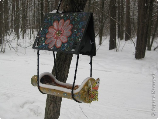 Кормушка для птиц.   фото 3