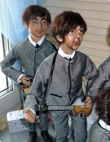 куклы Битлз фото 4