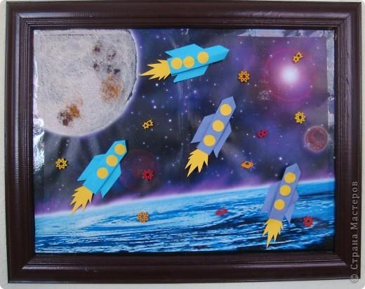 Космос далекий и близкий бумага фото 1