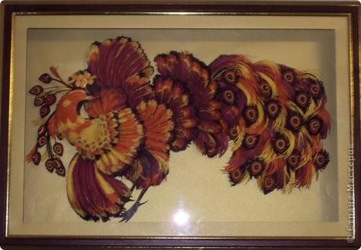 Картина панно рисунок Квиллинг Черёмуха и др Бумага фото 6