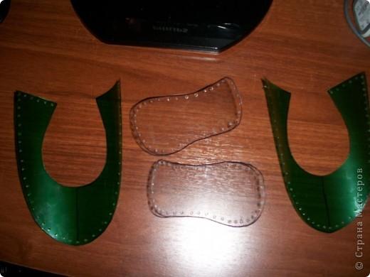 Куклы Мастер-класс Балетки для куклы МК Бутылки пластиковые Клей Ткань фото 2