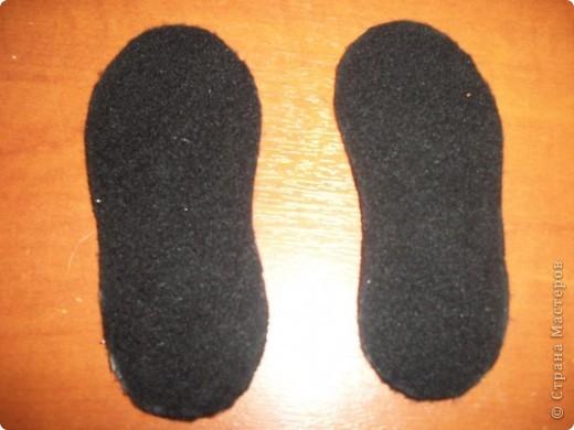 Вот придумались такие туфельки для моей золушки. Спешу поделиться с Вами. фото 9