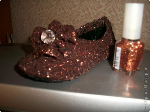 Вот придумались такие туфельки для моей золушки. Спешу поделиться с Вами. фото 11