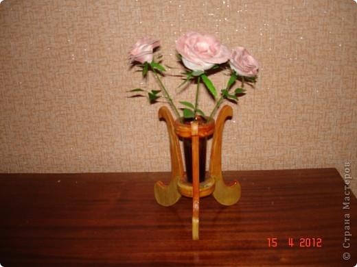 Цветы своими руками из фарфора