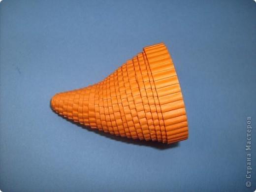 Нам понадобиться ( в скобках-количество полос для джентльмена) Оранжевых полос 43 (48) шт.+1 полоска на проклейку стыков Желтых-4(6) Сливовых (шляпка) -7 (9) полосок термопистолет, глазки, ленточка хорошее настроение Приступим? фото 13