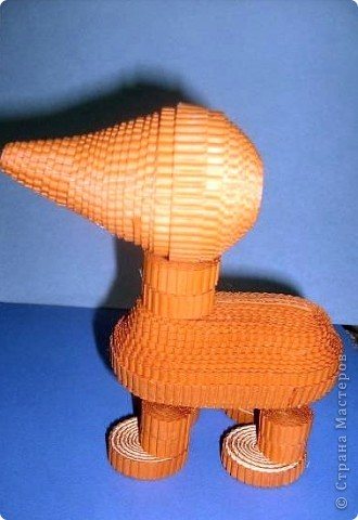 Нам понадобиться ( в скобках-количество полос для джентльмена) Оранжевых полос 43 (48) шт.+1 полоска на проклейку стыков Желтых-4(6) Сливовых (шляпка) -7 (9) полосок термопистолет, глазки, ленточка хорошее настроение Приступим? фото 32