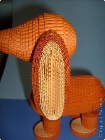Нам понадобиться ( в скобках-количество полос для джентльмена) Оранжевых полос 43 (48) шт.+1 полоска на проклейку стыков Желтых-4(6) Сливовых (шляпка) -7 (9) полосок термопистолет, глазки, ленточка хорошее настроение Приступим? фото 33