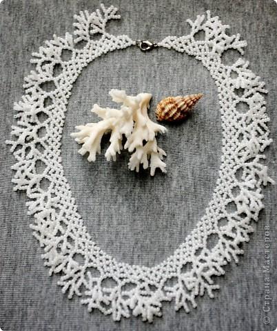 Кораллы бисерные со схемой