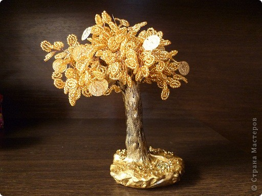 Видео денежное деревья из бисера схемы Вещи из бисера.