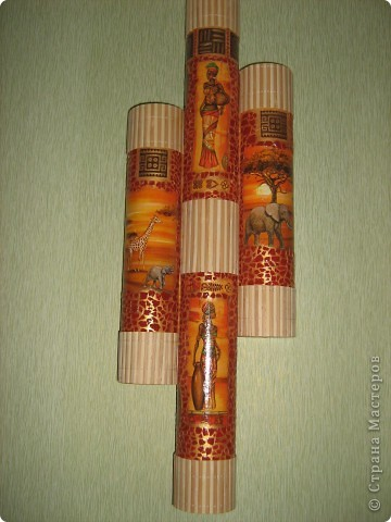 Поделки из бумажной трубы 58